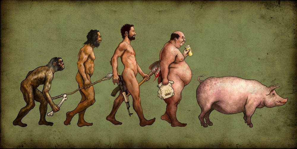Evolutionen Mænd