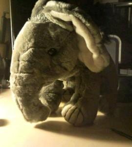 Jumbo den glade elefant